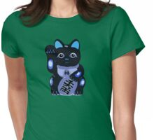 Maneki Neko - Lucky Cat Womens Fitted T-Shirt