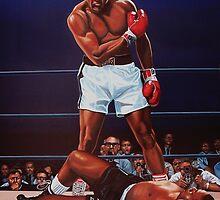 Muhammad Ali versus Sonny Liston by PaulMeijering