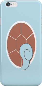 Squirtle iPhone Cover by jereeebear
