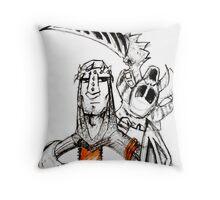 The Crusader Throw Pillow