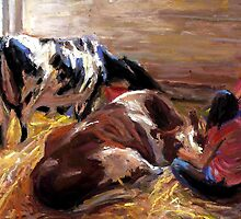 Calming Cows by Cameron Hampton