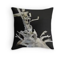 For the Love of Christ. Throw Pillow
