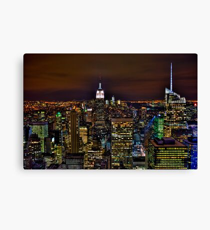 The Big Apple - NYC Canvas Print