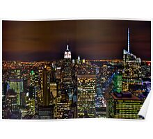 The Big Apple - NYC Poster