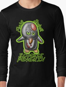 Zombie Penguin Long Sleeve T-Shirt