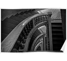 Cultural Staircase - Chicago Poster