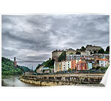 Bristol - Clifton Suspension Bridge Poster