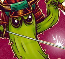 Cactus Samurai Sticker