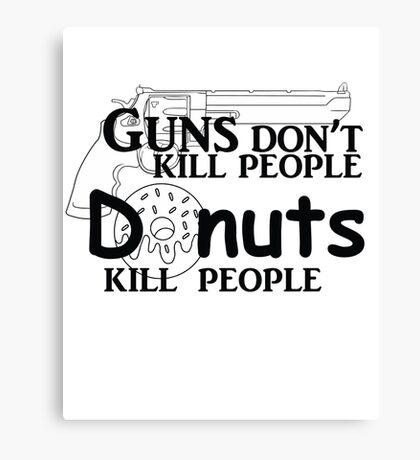 Gun control? Canvas Print
