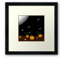 The Haunted Patch Framed Print