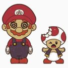 Mario and Toad by dtdream