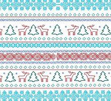 Christmas Pattern by eliannadraws