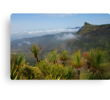 Cunninghams Gap- Mount Mitchell and Scenic Rim. Qld. Canvas Print