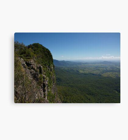 Mount Mitchell- Scenic Rim. Southeast Queensland. Canvas Print