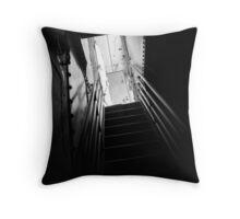 Below Deck Throw Pillow