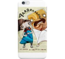 Text Shouting iPhone Case/Skin