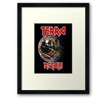 Earth Metal Framed Print