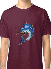 Sailfish Swordfish Jumping Cartoon Classic T-Shirt