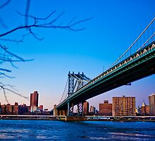 Thats how we across - Manhattan Bridge by sxhuang818