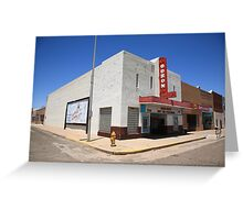 Route 66 - Odeon Theater Greeting Card