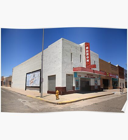Route 66 - Odeon Theater Poster