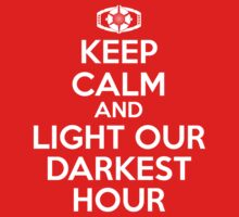 Light Our Darkest Hour Kids Clothes