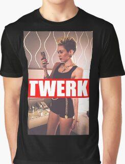 Miley Cyrus Twerk Team New Tee Graphic T-Shirt