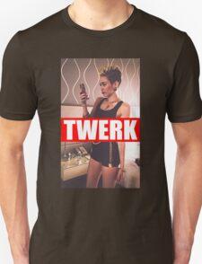 Miley Cyrus Twerk Team New Tee Unisex T-Shirt