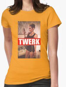Miley Cyrus Twerk Team New Tee Womens Fitted T-Shirt