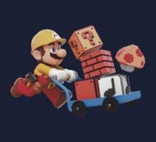 Super Mario Maker T Shirt One Piece - Short Sleeve