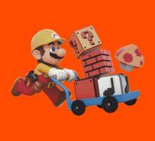 Super Mario Maker T Shirt Kids Tee