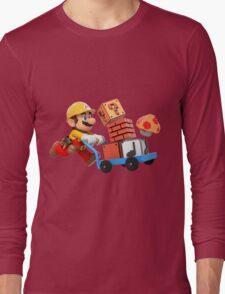 Super Mario Maker T Shirt Long Sleeve T-Shirt