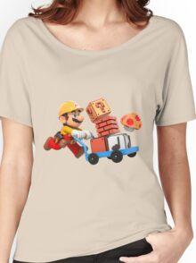 Super Mario Maker T Shirt Women's Relaxed Fit T-Shirt