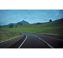 Next Landmark....The Glasshouse Mountains Photographic Print