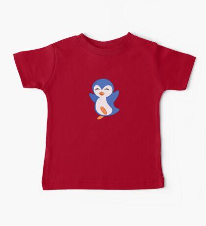 Happy Feet Dancing Penguin Baby Tee