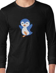 Happy Feet Dancing Penguin Long Sleeve T-Shirt
