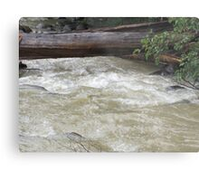 After effects of storm Metal Print