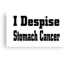 Stomach Cancer Canvas Print
