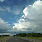 Driving into the Storm by barnsis
