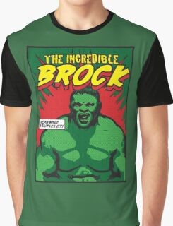 The Incredible Brock Graphic T-Shirt