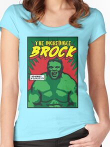 The Incredible Brock Women's Fitted Scoop T-Shirt