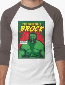 The Incredible Brock Men's Baseball ¾ T-Shirt