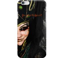 Dark witch iPhone Case/Skin