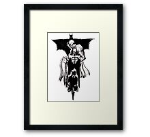 From The Shadows, a Legend Rises Framed Print