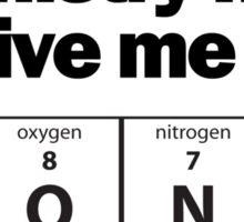 Got a BONEr for chemistry. Sticker