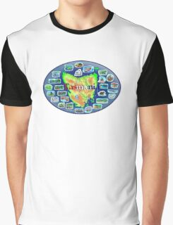 Tasmania Graphic T-Shirt