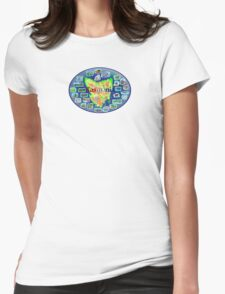 Tasmania Womens Fitted T-Shirt