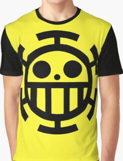 Heart pirates symbol - Trafalgar Law  Graphic T-Shirt