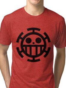Heart pirates symbol - Trafalgar Law  Tri-blend T-Shirt