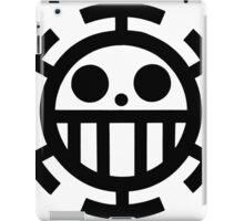 Heart pirates symbol - Trafalgar Law  iPad Case/Skin